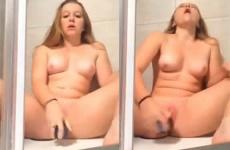 Ninfeta se masturbando