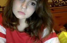 Garota linda ficando pelada na webcam caiu na net