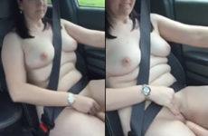 Madura com tesão enquanto dirige